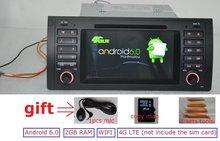 7 дюймов Android 6.0 для BMW E39, X5, M5, E53 автомобильный DVD, GPS, WiFi, 4 г LTE, Радио RDS, canbus, 2 ГБ Оперативная память, Quad Core, 1024×600, поддержка DVR, Россия