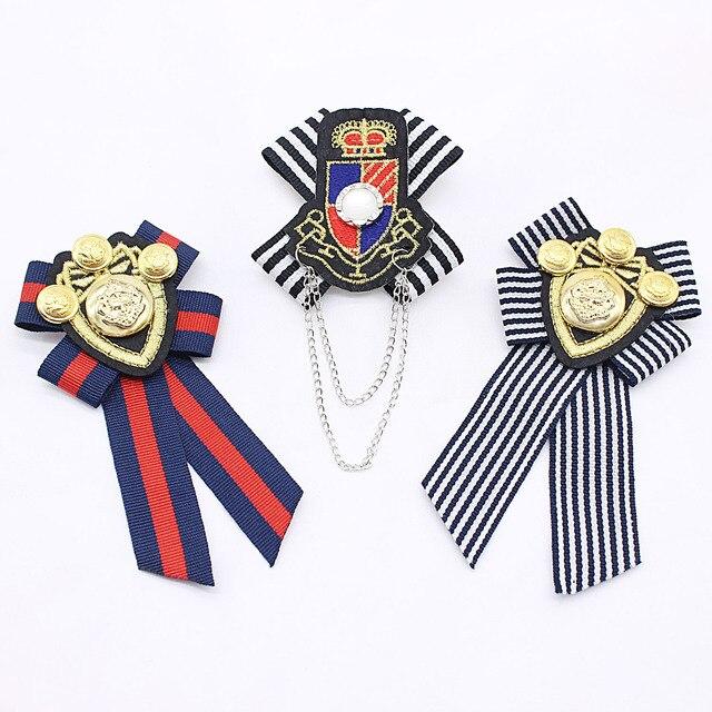2019 vintage spille Vendita Calda Placcato D'avanguardia Anchor Lovers 'Broche Femminile Britannico Spilla Navy Vento Distintivo Maschio Vestito Collegio Spille
