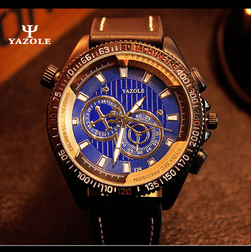 YAZOLE 2017 Men Watches Luxury Casual Men's Watch Analog Military Army Sports Watch Quartz Male Wristwatches Relogio Masculino