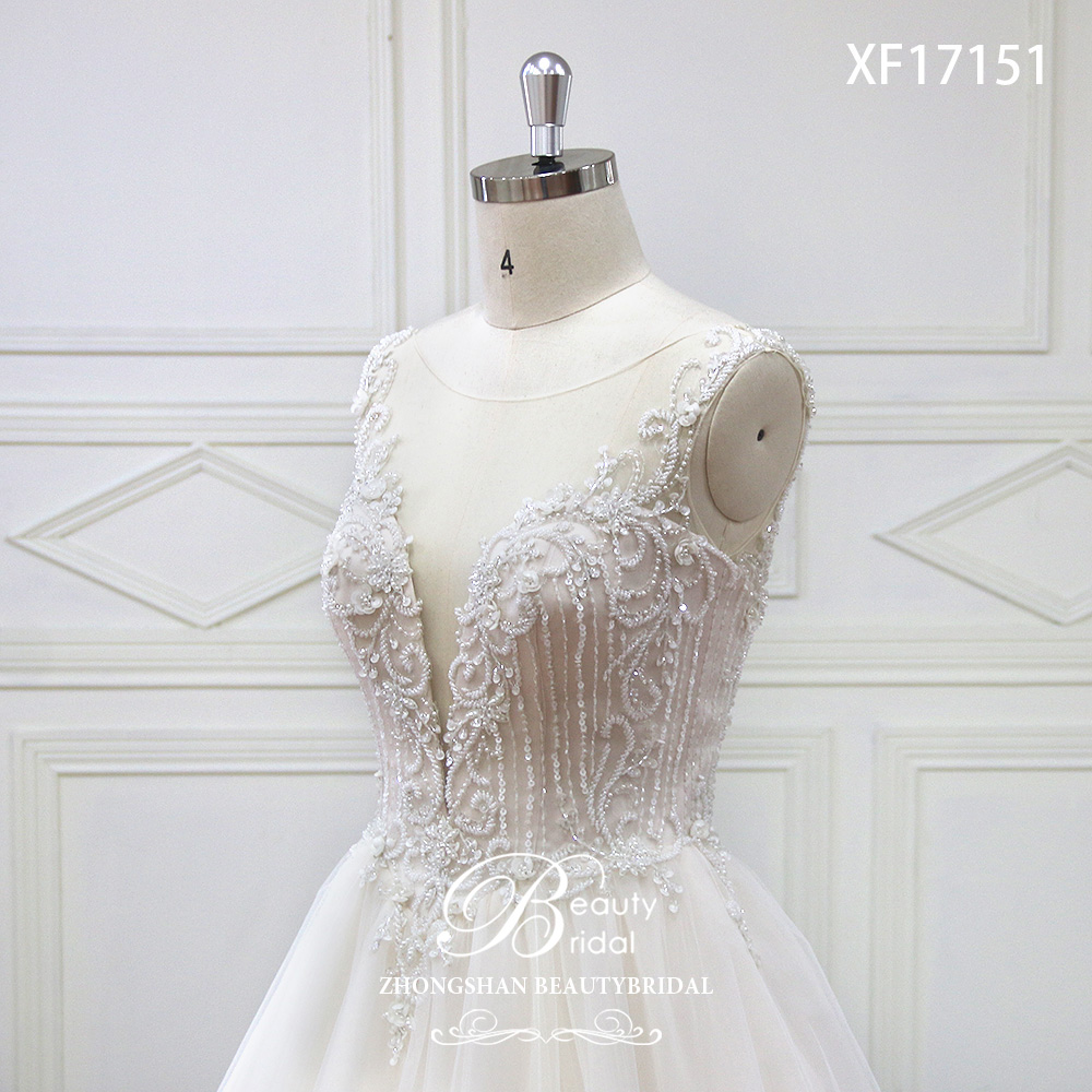 Eslieb High-end op maat gemaakte diepe V bruids Boho trouwjurk 2018 - Trouwjurken - Foto 5