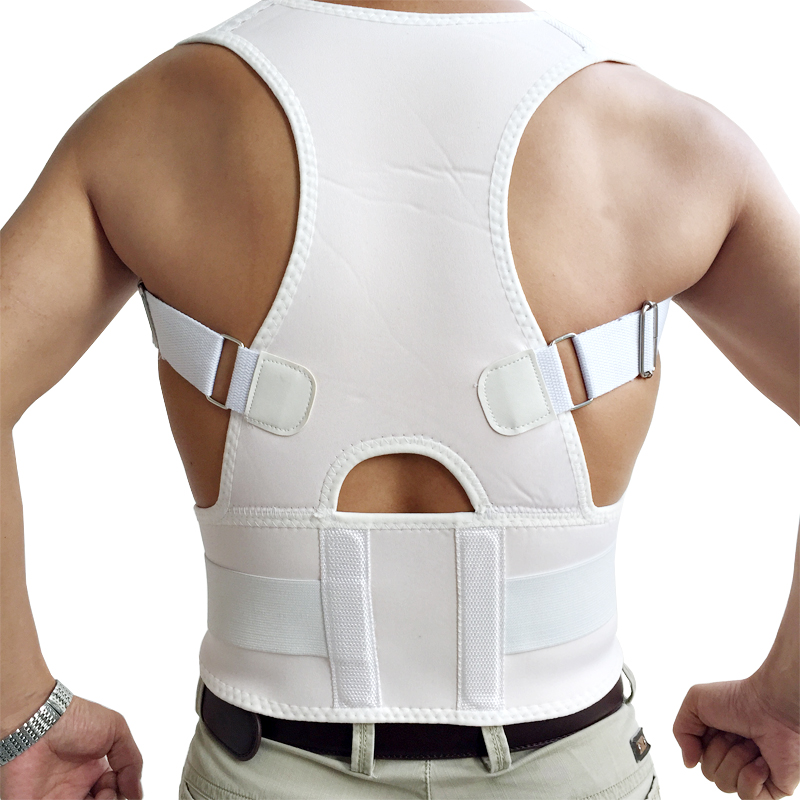 Back Waist Support Belt Posture Corrector Backs Medical Belt Lumbar High Quality Male Corset For Posture 2016