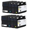 8 Сколы Картридж Совместимый hp932XL hp933XL Заменить Для HP Officejet 6100 6600 6700 7110 7610 Принтер