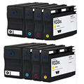 8 Chipped Ink Cartridge Compatible hp932XL hp933XL Replace For HP Officejet 6100 6600 6700 7110 7610 Printer