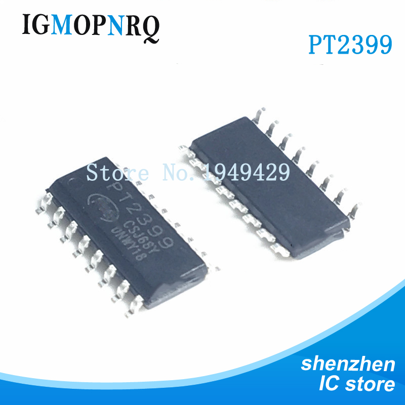 Free shipping 10pcs/lot <font><b>CD2399</b></font> PT2399 SMD SOP audio digital reverb processing IC integrated circuit chip PTC new original image