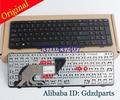 New Orig Black Frame US Version Laptop Keyboard for HP ProBook 450 G1/G0/G2 455 G1 470 G1 Series With Frame
