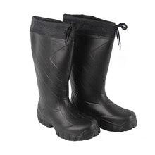 Men's  Hunting  Fishing  Waders Waterproof  Rain Boot Hunter Thermal Boot EVA Outdoor Black  Boots