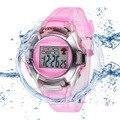 Esporte SYNOKE Marca de Moda Menina Menino Relógio Eletrônico Crianças Kid Uhr Digital LED Sports Relógios Montre Enfant de Choque À Prova D' Água