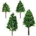 1:100-300 5 cm 6 cm 8 cm 10 cm Árvores Escala de Trem Modelo de Layout Cenário Do Jardim paisagem Da Estrada de ferro Árvores modelo