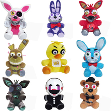Children Gift Five Nights At Freddy's 4 FNAF Plush Toys Freddy Bear Foxy Chica Bonnie Plush Stuffed Toys Doll for Kids Gifts недорого