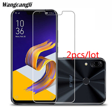 Wangcangli 2pcs/lot Tempered glass For ASUS ZE620KL mobile phone protective film 2.5D screen protector series