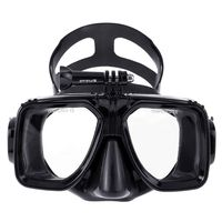 Waterproof Swim Glasses Diving Snorkeling Goggles Mask Mount with Hard EVA Case for DJI Osmo Action Camera for Gopro Hero7 6 5 4