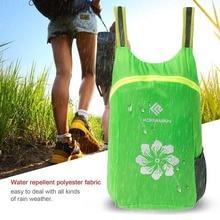 KORAMAN szuper könnyű, vízálló 18L poliészter színes táska Összecsukható unisex hátizsák Kültéri mászó táska