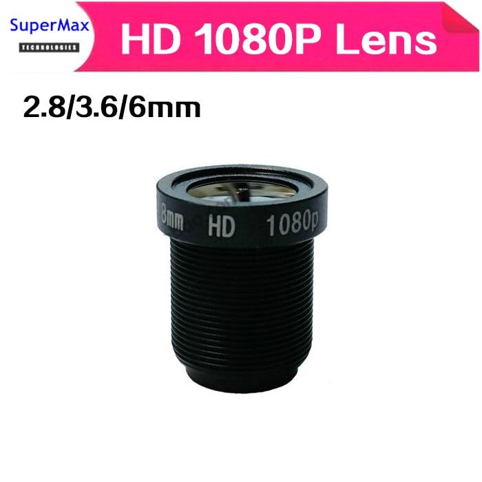 Kvm-switches Humor 10 Stücke Cctv Objektiv 1080 P 2,8mm/3,6mm/6mm Für Hd Full Hd Cctv Kamera Ip Kamera M12 0,5 Mtv Montieren Billigverkauf 50%