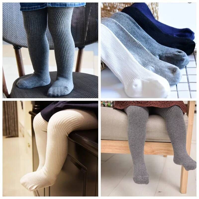 Baby Toddler Girls Tights Cotton Infant Tights Cable Knit Leg Warmers Seamless leggings Pants Stocking