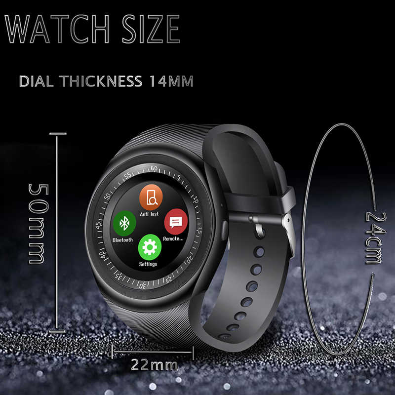 LIGE 2019 New Smart Watch Men LED Color Touch Screen Sport Pedometer Bluetooth Smart Watch Support SIM TF Relogio inteligente