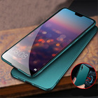 Full Protective PC Metal Case for Huawei P20 Case Hard Thin Slim Car magnet Cover for Huawei P20 Pro P20 lite P10 P10 plus