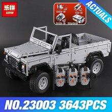 Lepin 23003 série Technic Selvagem MOC-Controle Remoto off-road veículos modelo de Blocos de Construção Tijolos brinquedos Infantis de Aniversário presentes