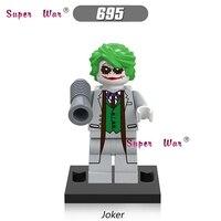 Single star wars super heroes marvel dc comics superman Batman Joker building blocks models bricks toys for children kits