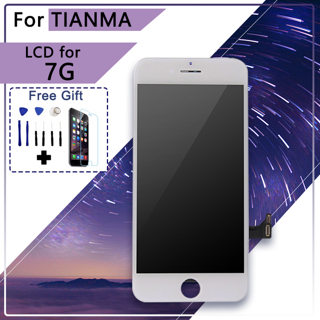 new arrival cb1d8 fe06a TIANMA AAA Quality Brand NEW For iPhone 7 LCD Display Screen Pantalla with  Touch Digitizer assembly Replacement 4.7 inch