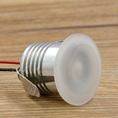 Mini 1W Rcessed Led Cabinet Light For Closet Jewelry Display Cupboard Spot Light