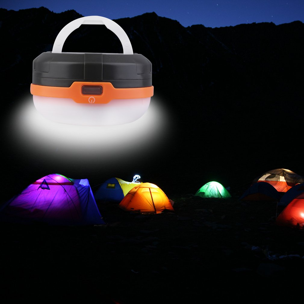 1pc 3LED Portable Tent Lantern Light Lamp Camping Hiking Fishing Outdoor Hot