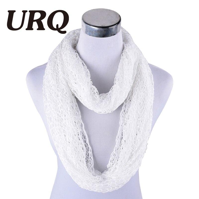 [URQ] Women Ring Scarves Handmade
