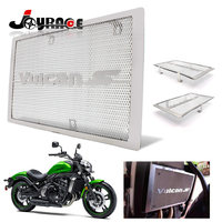 Stainless Steel Motorcycle Radiator Grille Protective Cover Guard for kawasaki VN650 2014