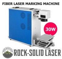 Портативный 30 Вт волоконно лазерный маркировочный станок лазерный маркер с Z Axis Рабочий стол лазерная гравировка машина для металла пласти