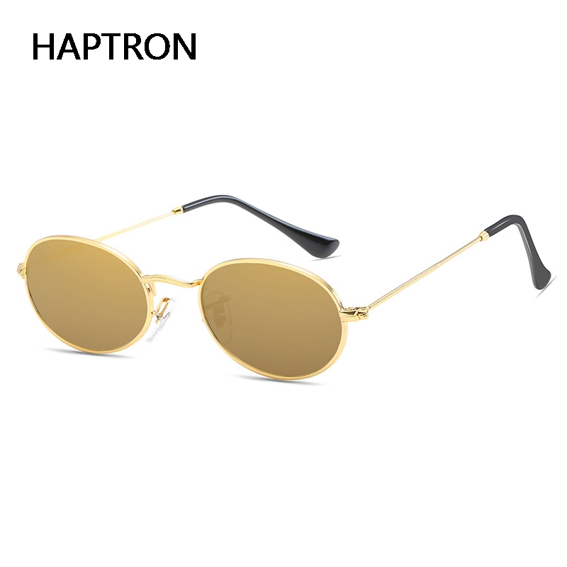 1e9d80a34a3 Detail Feedback Questions about HAPTRON Retro Small oval glasses women  Vintage Sunglasses retro mens rose gold silver Glasses Eyewear UV400 on ...