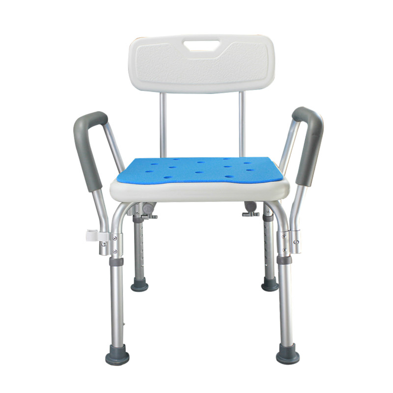 Bath Chair Shower Chair Bathroom Stool Non-slip Old People The Disabled Bath Chair Bathing Stool for Pregnant Woman bathroom folding seat shower stool shower wall chair stool old people anti skid toilet stool bath wall chair