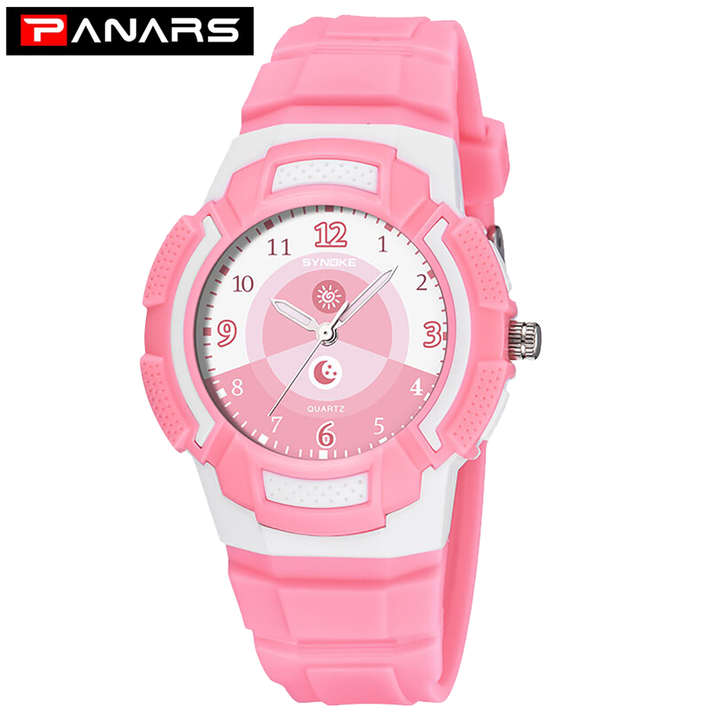PANARS Children's Watch Fashion Waterproof Quartz Wristwatches Date Sports Watch Clock Birthday Gifts For Boys Girls Kids