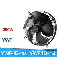 YWF4E 450S YWF4D 450S внешний ротор осевой вентилятор сетки Вентилятор 380/220 В 250 Вт морозильник Вентилятор охлаждения