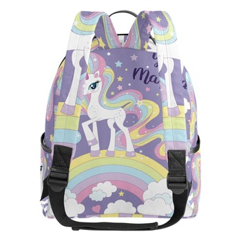 Unicorn Printing Student Backpack