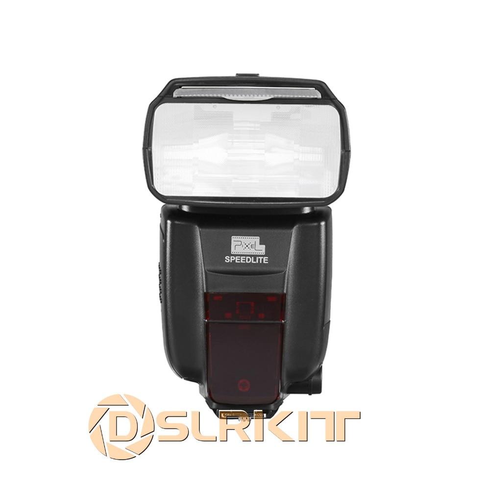 купить Pixel X800C Wireless Speedlite E-TTL HSS Flash Light Lamp For Canon DSLR Camera по цене 5653.4 рублей