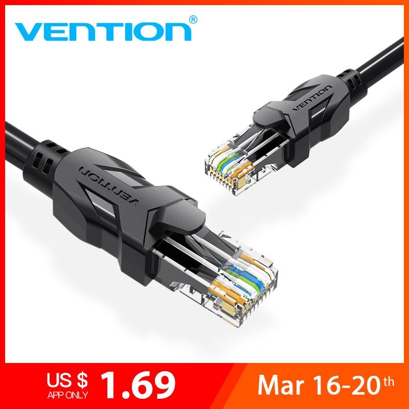 Conector rj45 de conexiune de mare viteză UTP CAT 6 Cablu Ethernet - Cabluri și conectori pentru PC