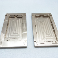 2Pcs Set Aluminium Mould For IPhone 7 7plus Laminator Mold Metal For The Front Glass With
