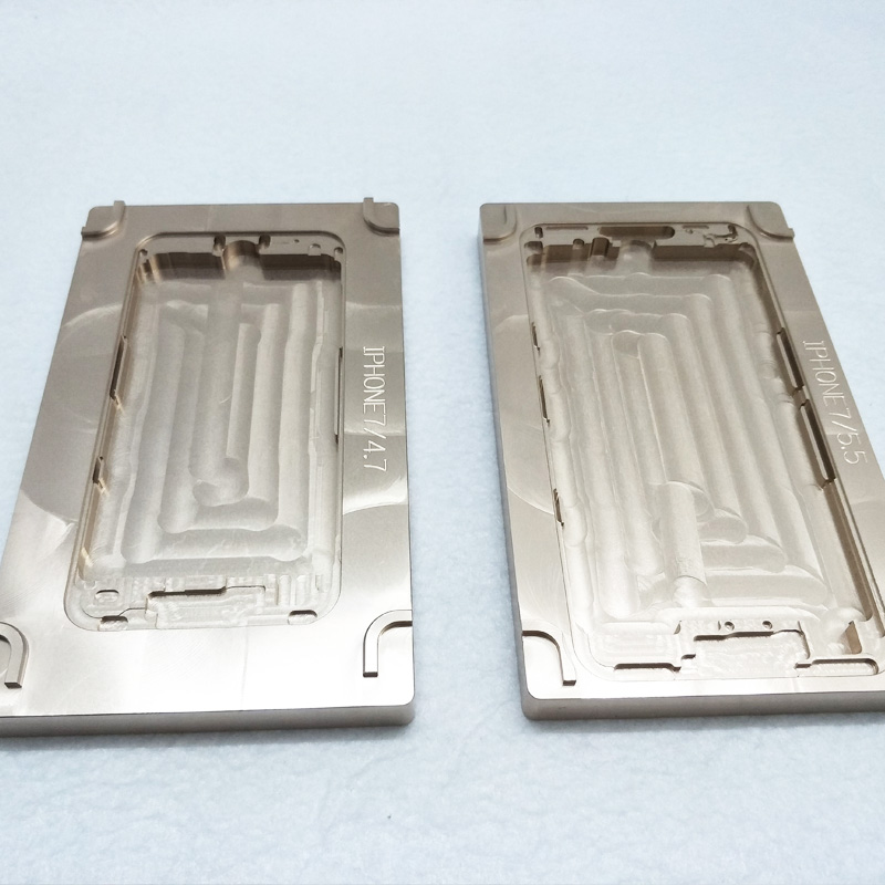 2Pcs/Set For TBK518 Aluminium Mould For iPhone 7 7plus Laminator Mold Metal For The Front Glass With Frame Location For OCA User2Pcs/Set For TBK518 Aluminium Mould For iPhone 7 7plus Laminator Mold Metal For The Front Glass With Frame Location For OCA User