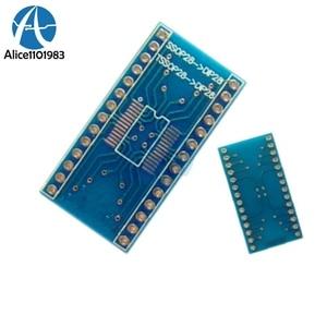 SSOP28 TSSOP28 к DIP28 0, 65 мм Шаг адаптера передачи доска AD9850 PL2303HX доска