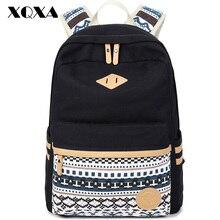 XQXA Hohe Qualität Rucksäcke für frauen Laptop-tasche Druck Schule Rucksack Tasche für Teenager Mädchen Rucksack Masculina Mochila