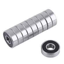 10 pçs/set 608 2RS 8 Ball Bearing ABEC-5 X 22 X 608RS 7mm Aço Deep Groove Rolamentos de Esferas Selados z3V3 608-2RS 608rs Rolamento(China)