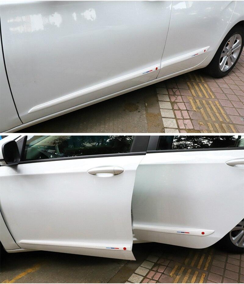 Auto zubehör styling tür dekoration streifen taille linie anti-kollision streifen für Renault clio megane 2 3 captur logan kadjar