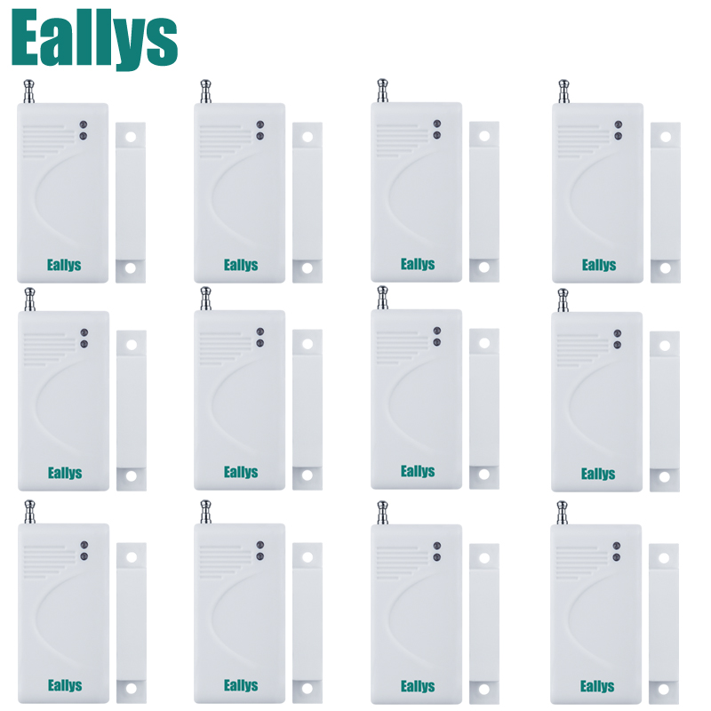 Hot Sale New White 433 Mhz Sensors & Alarms Contact Wireless Door Window Magnet Entry Detector Sensor