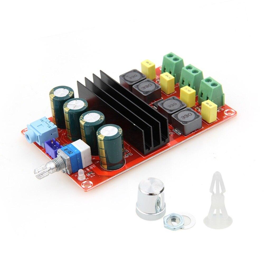 TPA3116 2x100 W Double Canal Numérique Conseil Amplificateur Audio Module 12 V-24 V Numérique IC Haute résolution Haute Réponse En Fréquence