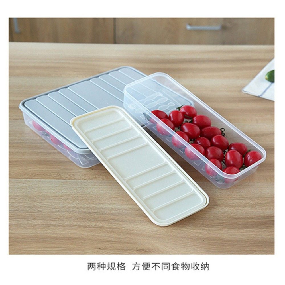 Sealed-Box Fridge-Food-Container-Case Plastic Classification Refrigerator Square Large