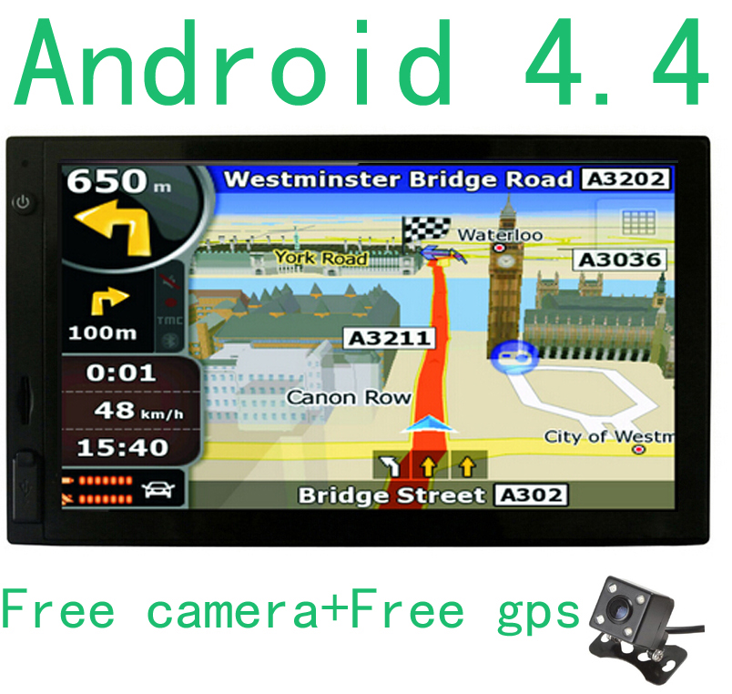 New  Inch Car Gps Navigation Android   Rear Camera Bluetooth Truck Gps Navigator Naviteleurope Map Sat Nav