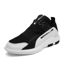 2017 new arrival stretch fabric sport men Shoes Lace Up jogging Trainers Breathable sneakers male lace up running Athletics Shoe недорого