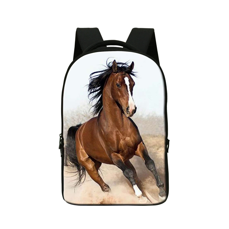 Plush Horse 3D Print Backpacks for College Students,Laptop Back Pack,Mens Computer Bag,Cool Bookbag for Boys,Day Packs mochila best laptop backpacks cool mens custom rucksack back pack womens college computer backpack bags for man business travel work