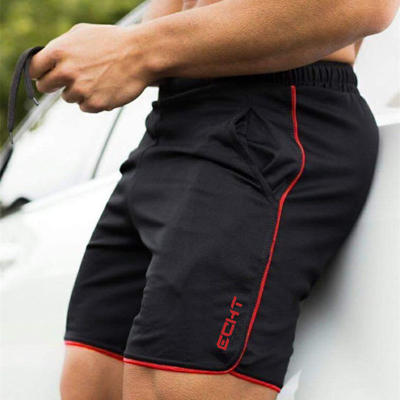 Men Gyms Fitness Bodybuilding Shorts Mesh Sports Running Mens Shorts Summer Bermuda Man Jogger Trousers Muscle Aesthetics Brand