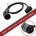 2016 Diagnostic interface for BMW ICOM D Cable ICOM-D Motorcycles Diagnostic Cable for BMW 10PIN Adapter