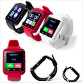 Venta caliente bluetooth smart watch u8 reloj u smartwatch para samsung s4/note2/3 htc lg xiaomi android smartphones teléfonos apple
